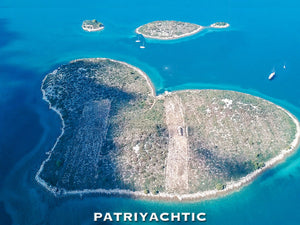 Because we love you, here's a $12.9M heart-shaped island -- for FREE!