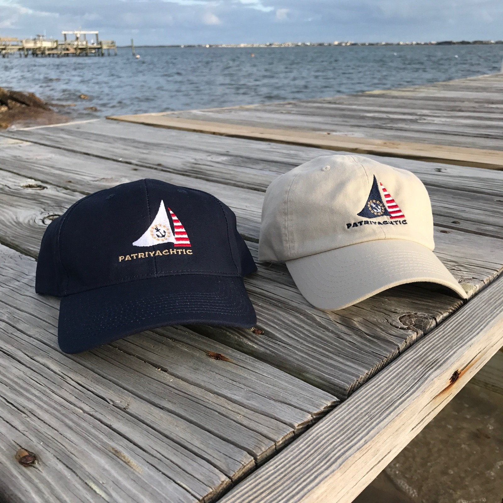 Sandwich-Lid Ball Cap - Sailboat Logo