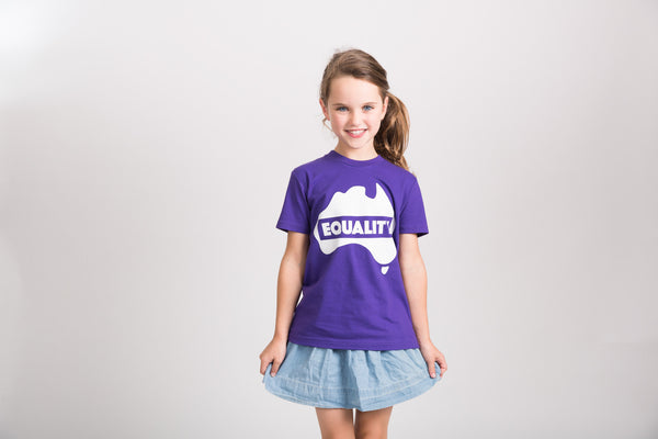 Kids Equality T-Shirt - Colour