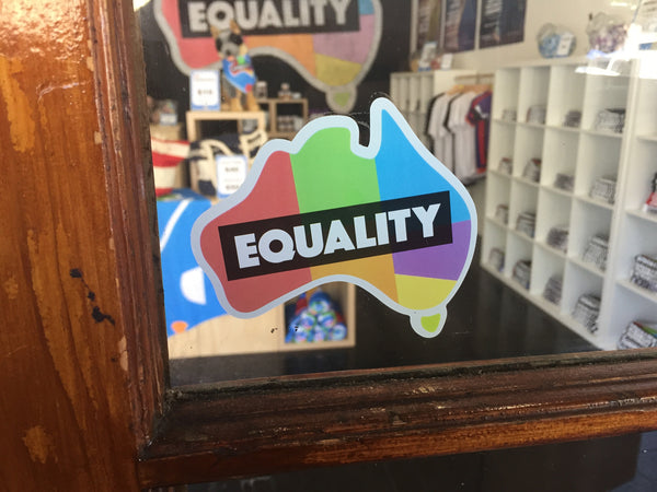 Equality Window Sticker
