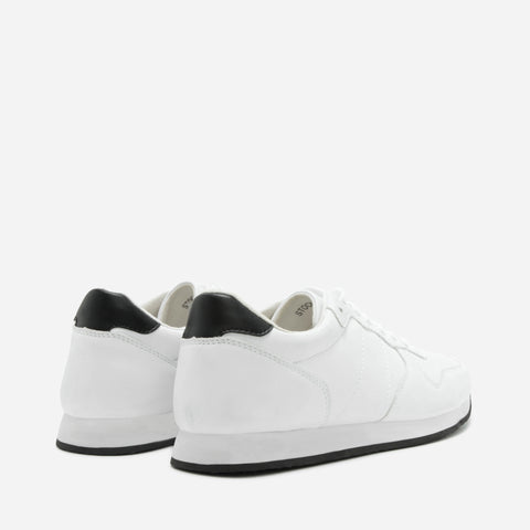 Stockholm White Sneakers
