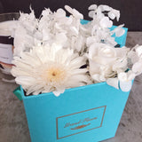 Infinity White Bloom Box