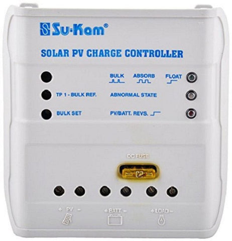 SuKam Solar charger with load controller 12V/10AMP - Shyam Corporation