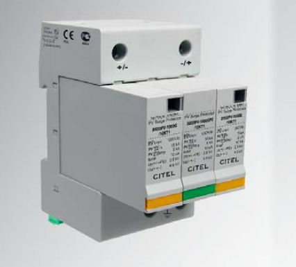 Citel Type1+2  SPD for 1000V DC for Photovoltaic Application
