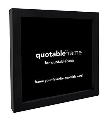 Quotable Cards Black Frame