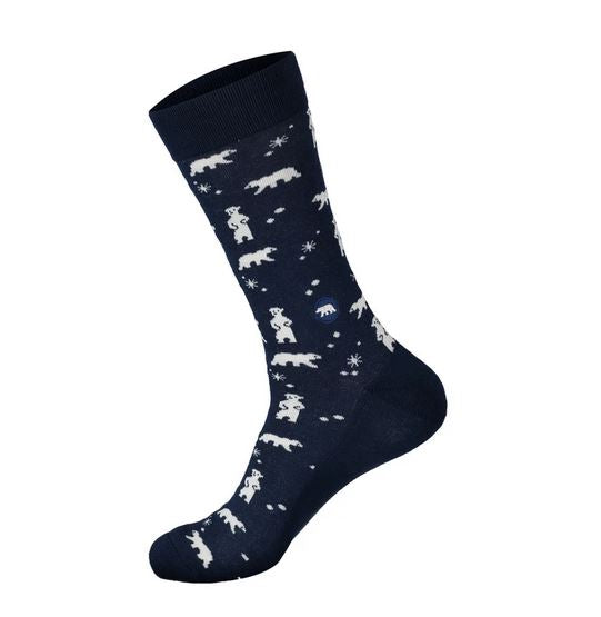 Polar Bear Socks that Protect the Arctic