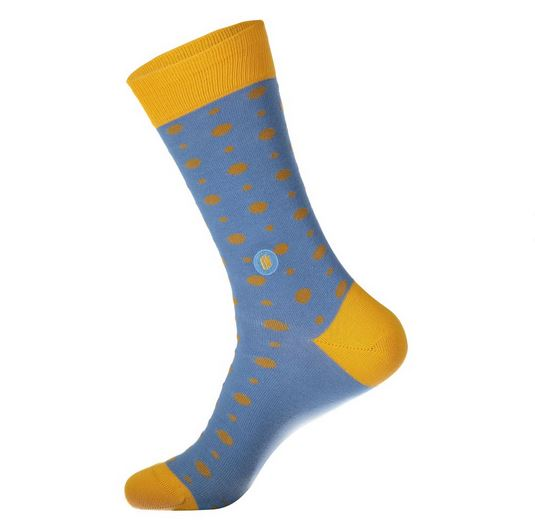 Polka Dot Socks That Give Books