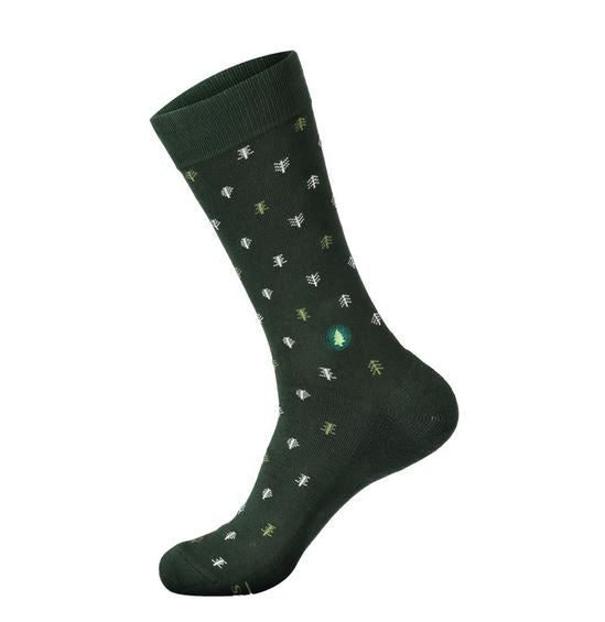 Tree Pattern Socks That Plant Trees