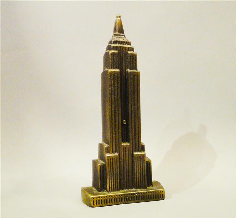 Cast Bronze Empire State Building Coin Bank
