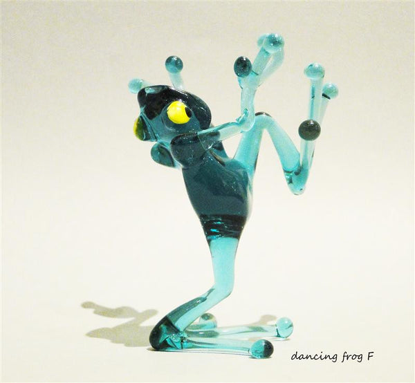 Glass Dancing Frog