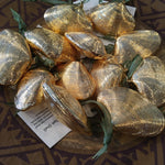 Gold Double Clam Shell Ornament