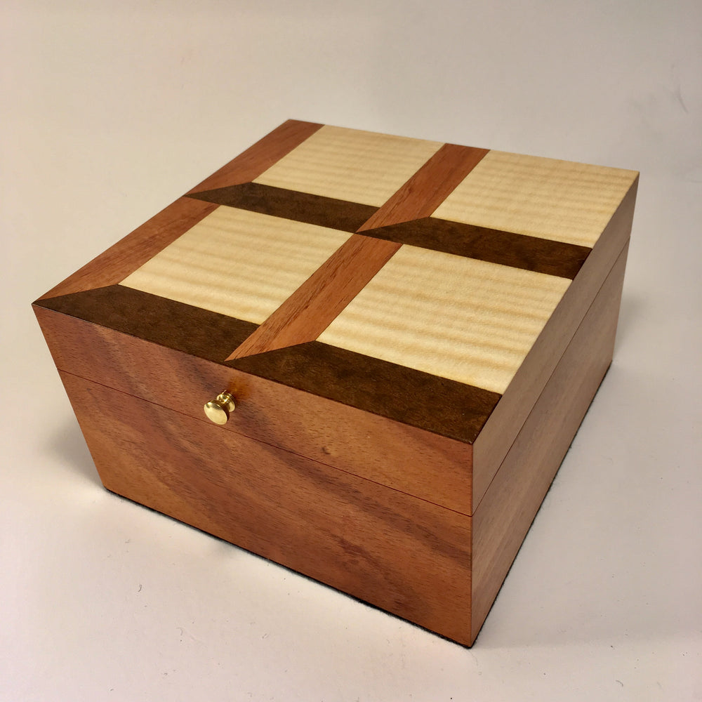 Attic Windows Keepsake Box
