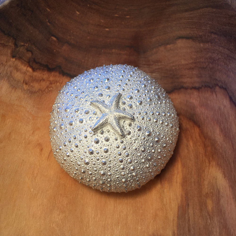 Pewter Sea Urchin Keepsake Box