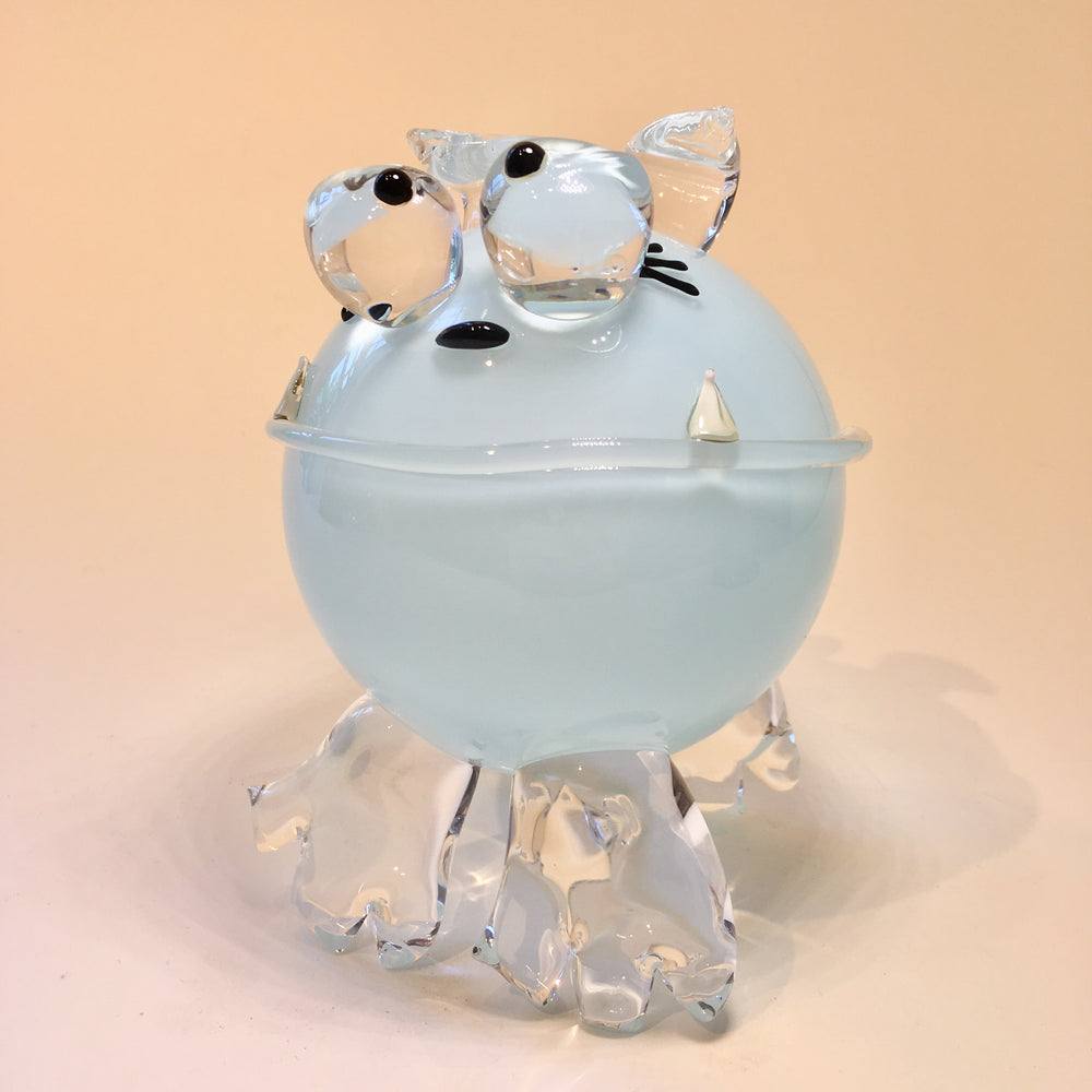 Glass Cartoon Puppy