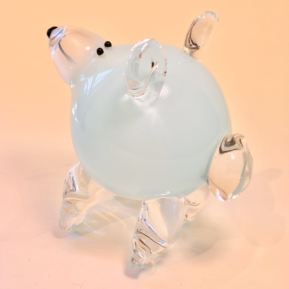 Glass Cartoon Bear Cub