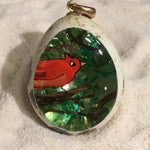 Cardinal Quail Egg Ornament