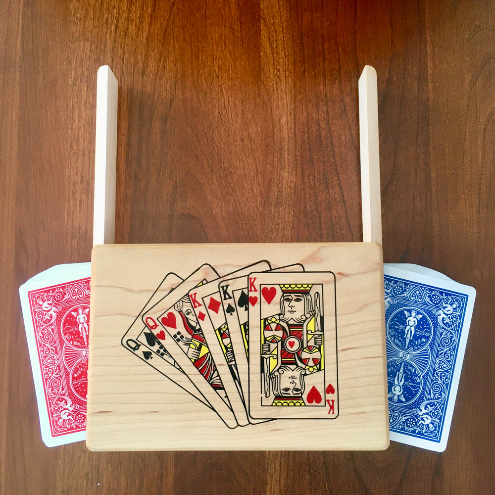 Full House Double Deck Playing Card Box