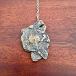 Bronze Tree Bark Necklace