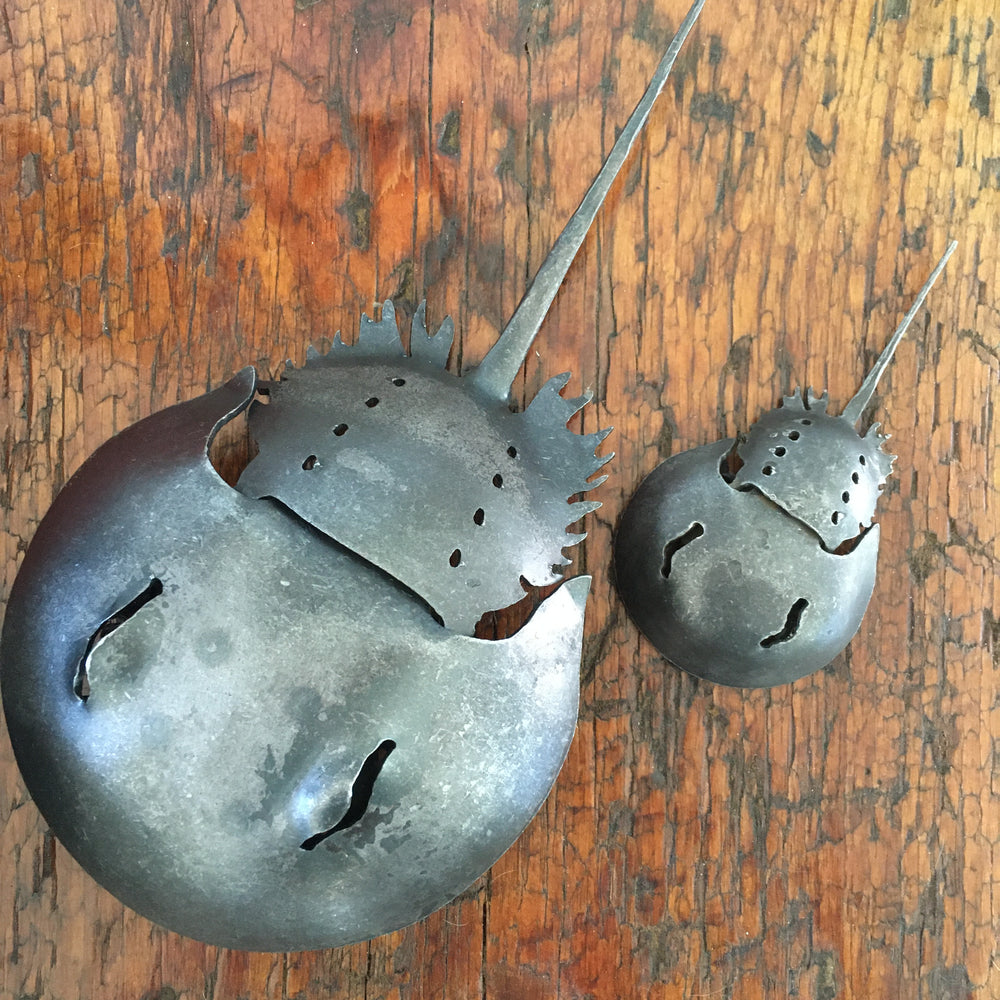 Wrought Iron Horseshoe Crabs