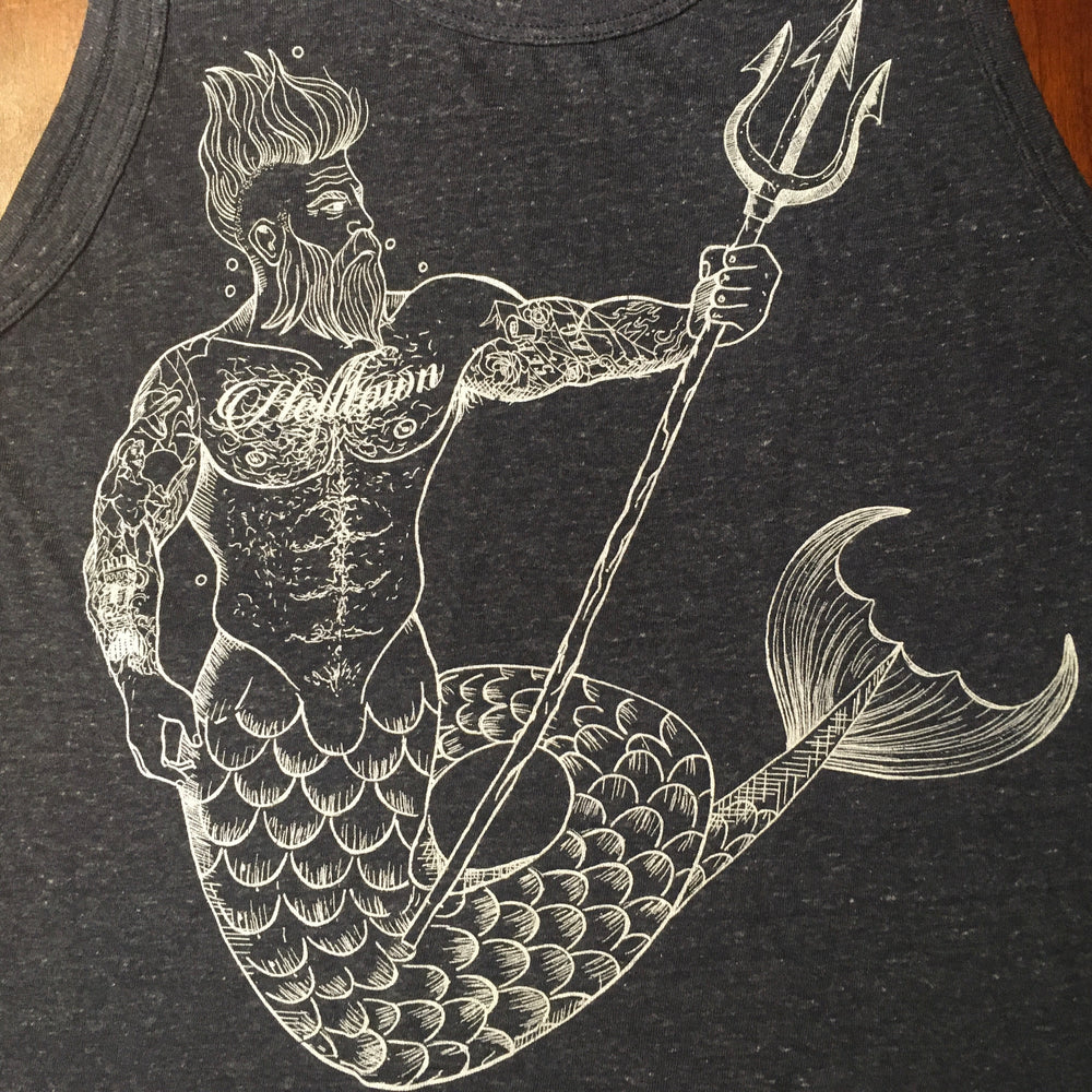 Helltown Merman Tank Top