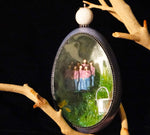 Eight Maids a Milking Goose Egg Ornament