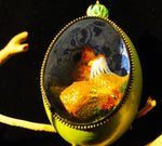 Three French Hens Duck Egg Ornament