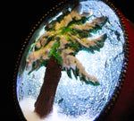 Winter's Day/Winter's Night Duck Egg Ornament with 3 Way LED Light
