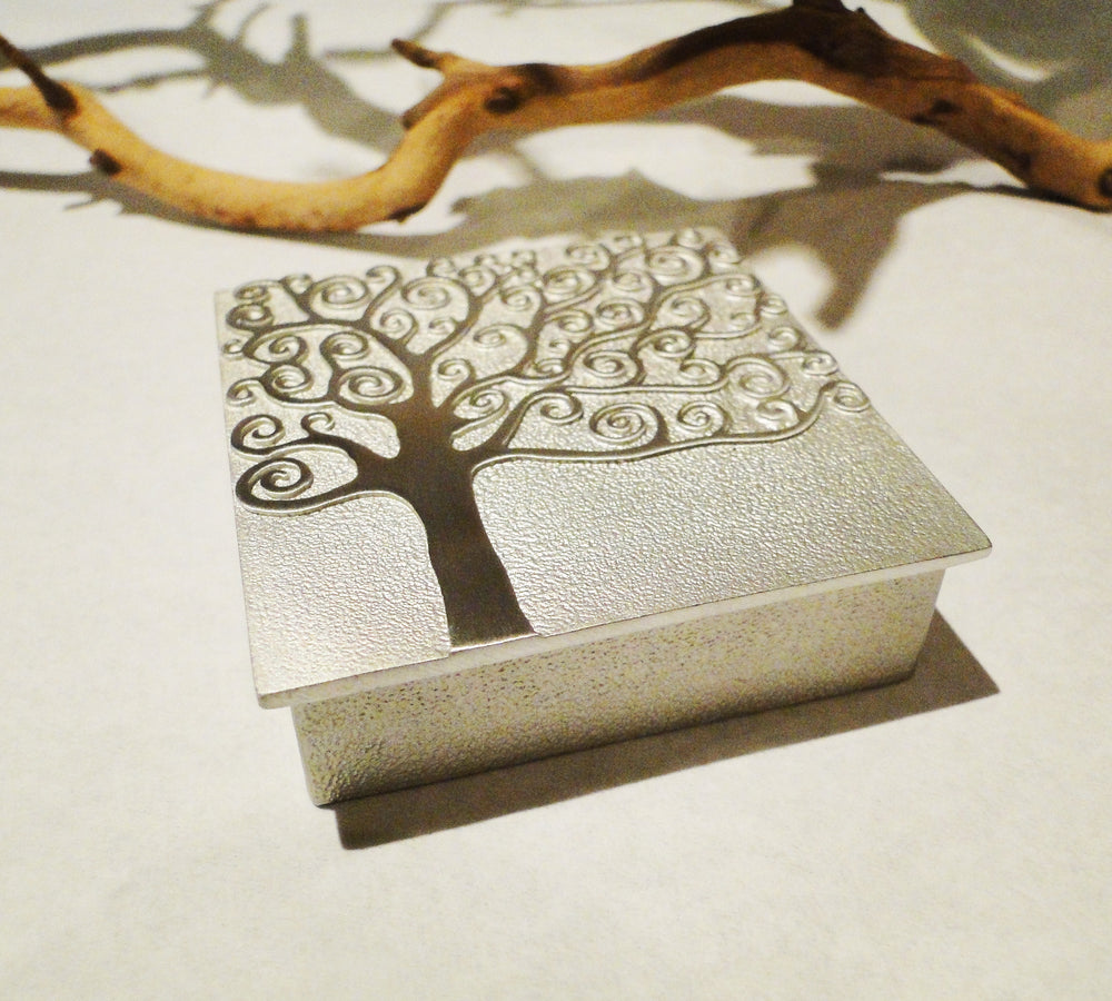 Friendship is a Sheltering Tree Pewter Keepsake Box