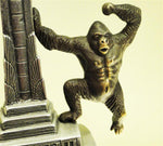 Cast Bronze and Aluminum King Kong Coin Bank