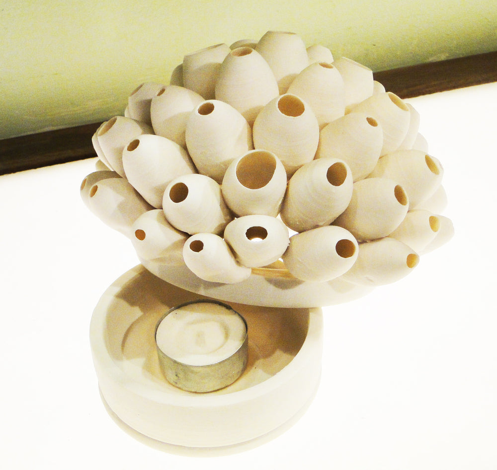 Barnacles Porcelain Tealight Holder