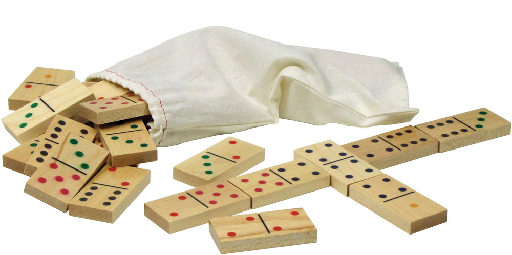 Classic Wooden Dominoes