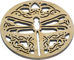 Dragonfly Pattern Wood Trivet