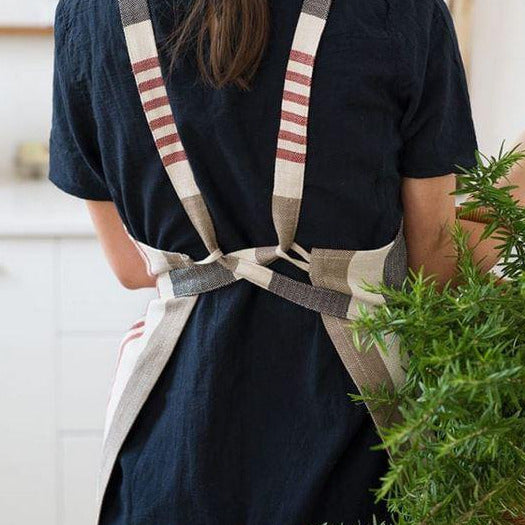 Cotton and Linen Chef's Aprons