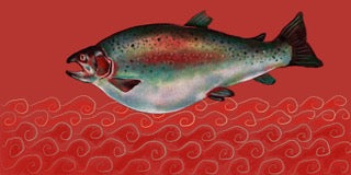 """Tubby Fish"" by Patricia Gail Leidl"