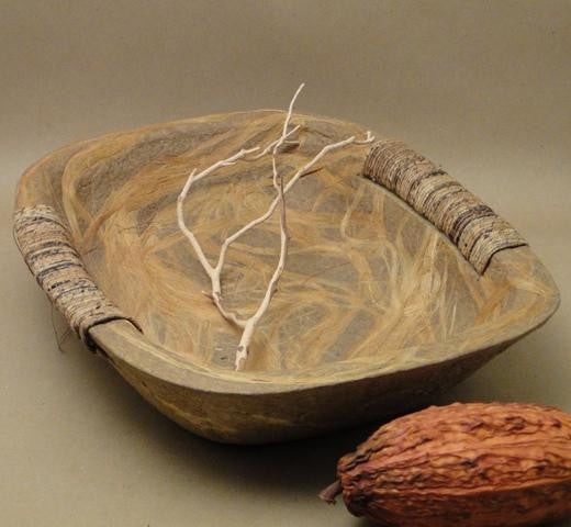 Rectangular Plant Fiber Bowl