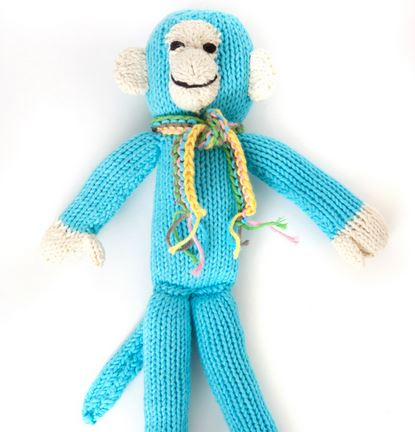 Organic Cotton Fair Trade Monkey