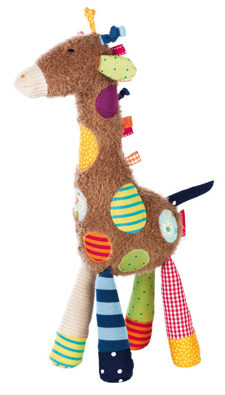 Patchwork Semi Plush Giraffe
