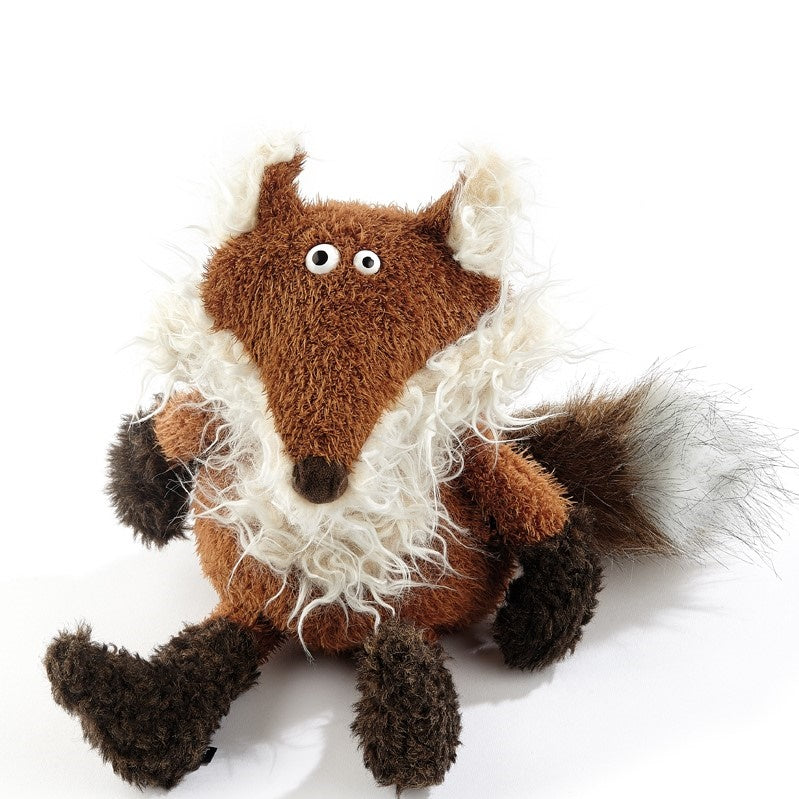 Grizzled Old Semi Plush Fox