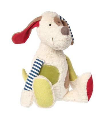 Organic Patchwork Plush Dog