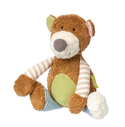 Organic Patchwork Plush Bear