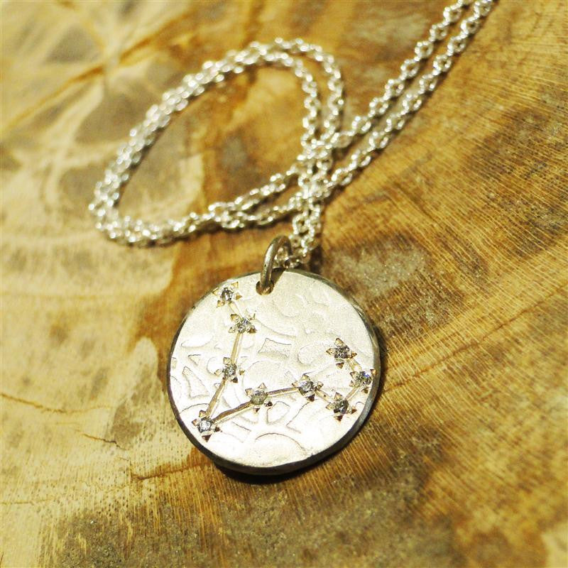 Pisces Constellation Diamond Necklace