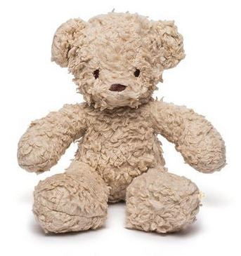 Small Cream Sherpa Teddy Bear