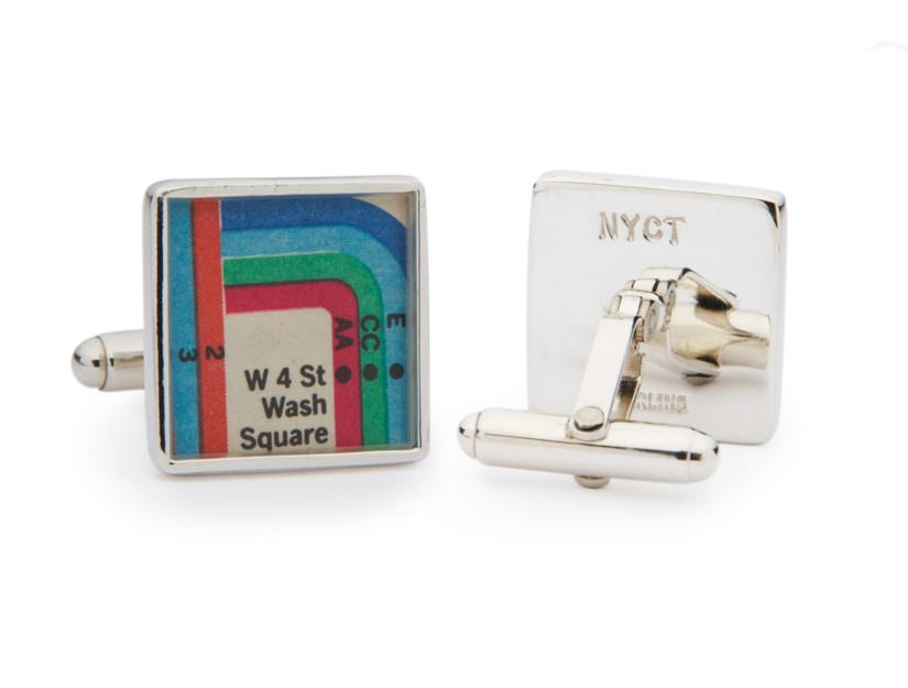 Vignelli NYC MTA Map Cuff Links