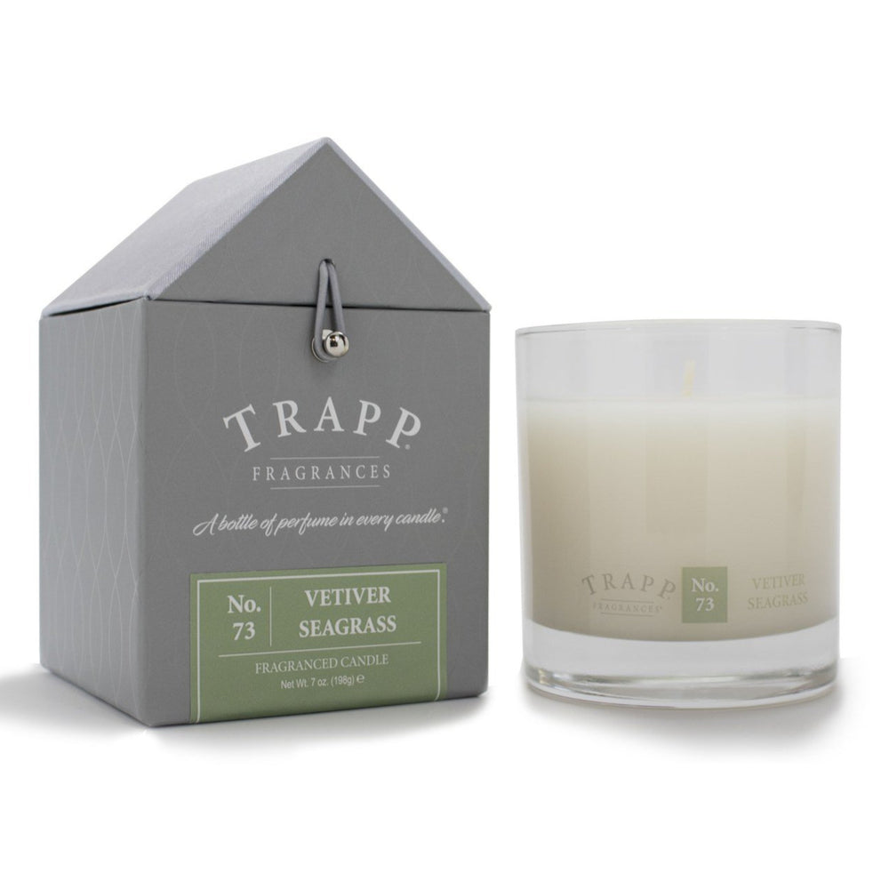 Trapp No 73 Vetiver Seagrass Scented Candle