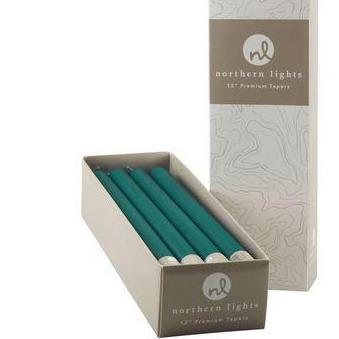 "Box of 12 Turquoise 12"" Column Tapers"