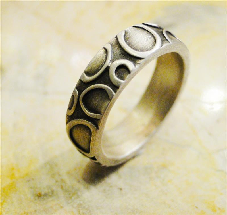 Riverstones Sterling Silver Ring