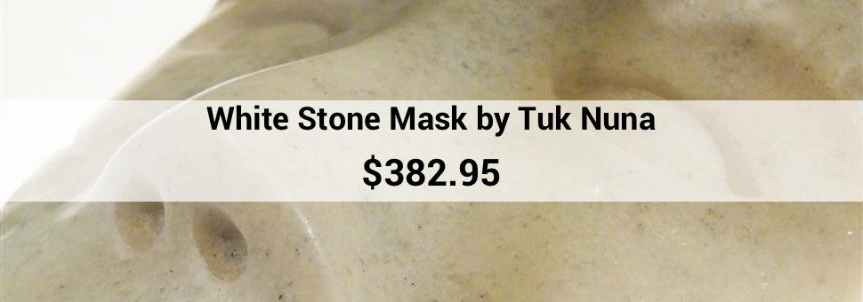 White Stone Mask by Tuk Nuna $382.95