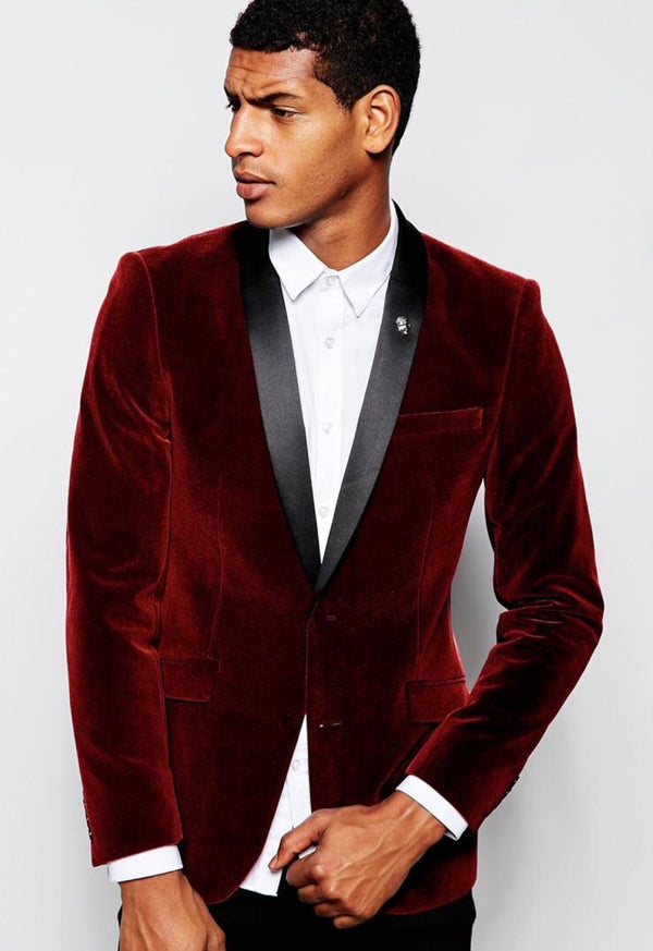Holiday Go-To:  The Velvet Tuxedo Jacket