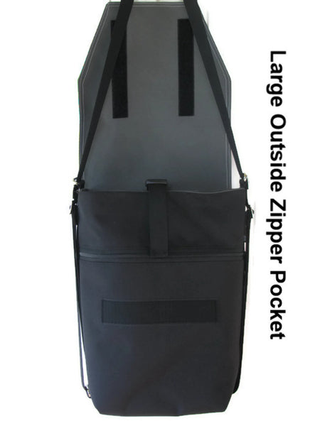 Convertible Backpack with removable flaps