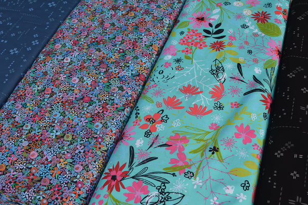 New Design - The Ariel - Mini Wild Flowers Fabric
